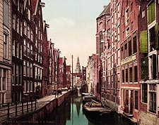 Kolk Canal & Oude Zyds, Amsterdam Photo Print for Sale