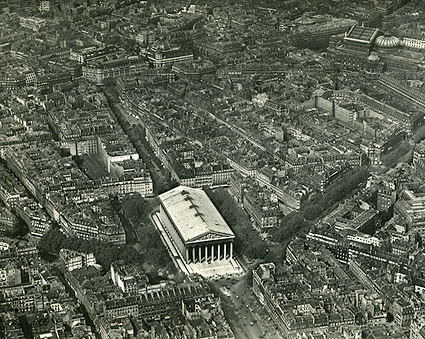 La Madeleine in Paris 1918 Photo Print