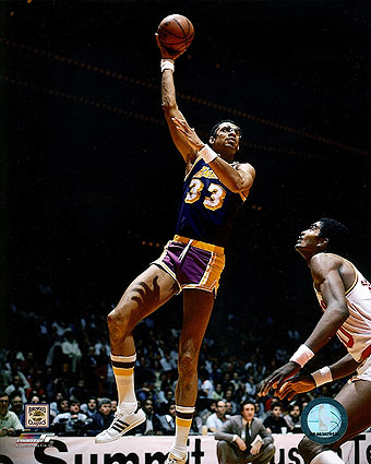 Lakers Basketball Kareem Abdul-Jabbar Photo Print