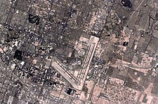 Las Vegas, Nevada & the Strip Satellite Photo Print for Sale