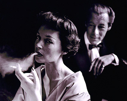 Lilli Palmer Smoking & Rex Harrison 1950 Photo Print
