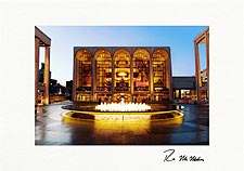 Lincoln Center Holiday Lights NYC Personalized Christmas Cards