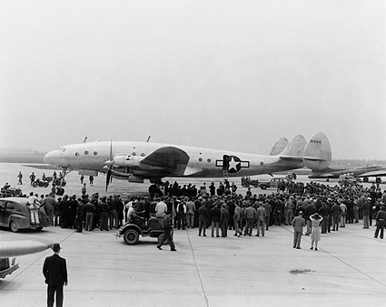 Lockheed C-69 Constellation Aircraft WWII Photo Print