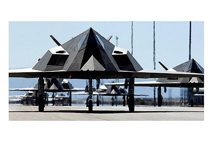 Lockheed F-117 'Nighthawk' Stealth Fighter Photo Print