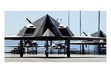 Lockheed F-117 'Nighthawk' Stealth Fighter Photo Print for Sale