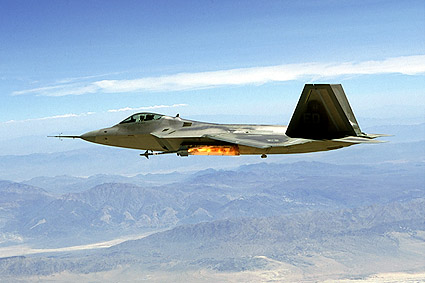 Lockheed F-22 Raptor Fires Missile Photo Print
