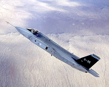 Lockheed Martin X-35 / F-35 in Flight Photo Print