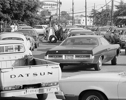 Long Gas Lines 1979 Warren K. Leffler Photo Print