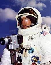 Lovell with Hasselblad Camera Apollo 13 NASA Photo Print