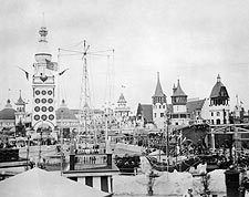 Luna Park Coney Island New York City 1900s Photo Print for Sale