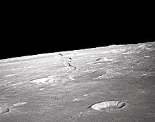 Moon Craters Apollo 10 NASA Photo Print for Sale