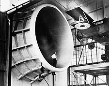 M-1 Sperry Messenger in NACA Propeller Research Tunnel Photo Print for Sale