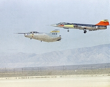 M2-F2 Lifting Body w/ F-104 Chase Plane Photo Print