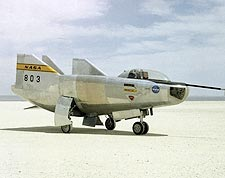 M2-F3 Lifting Body Aircraft on Lakebed NASA Photo Print for Sale