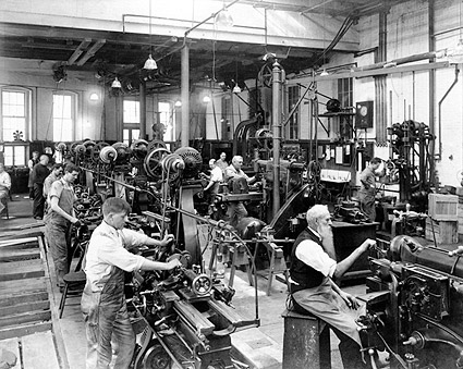 Machine Shop Government Printing Office Photo Print