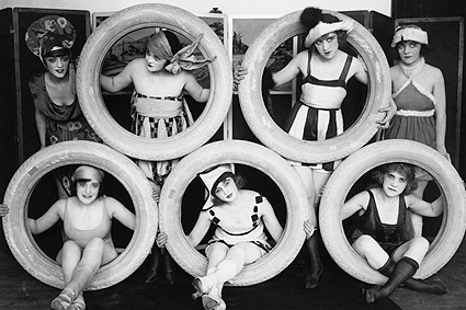 Mack Sennett's Sexy Bathing Beauties Photo Print