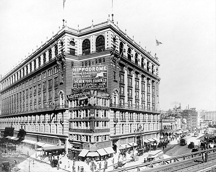 Macy's Building Herald Square 34th St. NYC 1907 Photo Print
