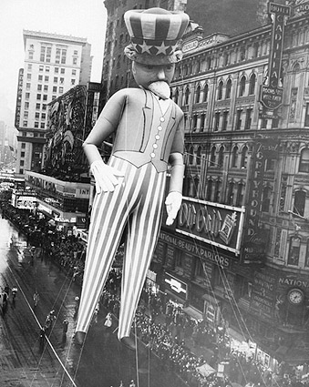 Macy's Thanksgiving Parade Uncle Sam Photo Print