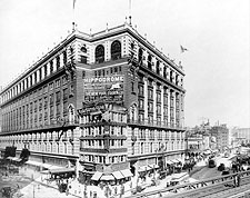 Macy's Building Herald Square 34th St. NYC 1907 Photo Print for Sale