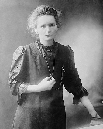 Madame Marie Curie Portrait Photo Print