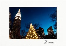 Madison Square Park Personalized Christmas Cards & Holiday Cards