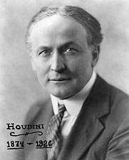 Magician Harry Houdini Portrait 1925 Photo Print for Sale