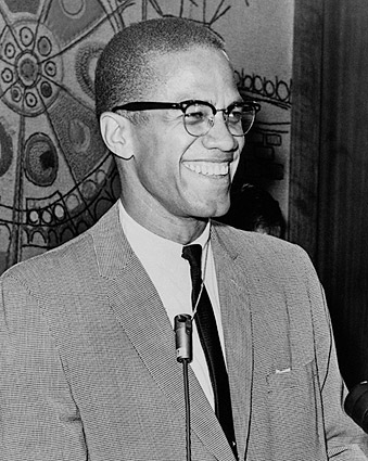 Malcolm X Portrait 1964 Photo Print