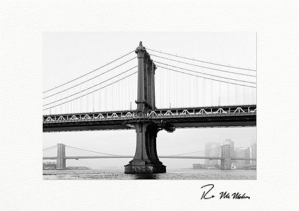 Manhattan Bridge, New York City Boxed Greeting Cards