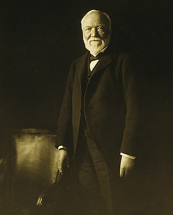 Marceau Portrait of Andrew Carnegie Photo Print