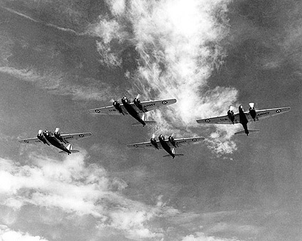 Martin B-12 Bomber Formation Photo Print