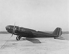 Martin XB-907A / B-10 Bomber Side View Photo Print for Sale