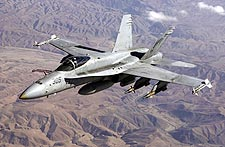 McDonnell Douglas F-18 Hornet Fighter Jet Photos