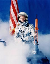 Mercury 9 Astronaut Gordon Cooper Portrait NASA Photo Print for Sale