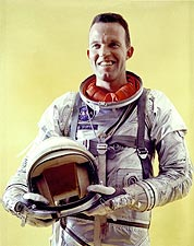 Mercury Astronaut Gordon Cooper Portrait Photo Print for Sale