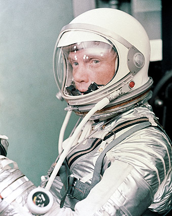 Mercury Astronaut John Glenn in Suit NASA Photo Print