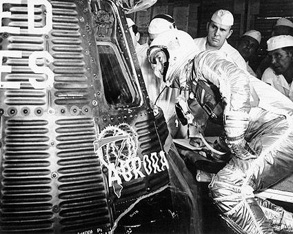 Mercury Astronaut Scott Carpenter Aurora 7 Photo Print