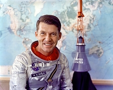 Mercury Astronaut Wally Schirra Photo Print