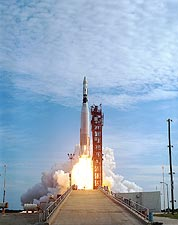 Mercury Atlas Agena Liftoff Photo Print for Sale