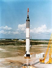 Mercury Freedom 7 Alan Shepard Launch Photo Print for Sale