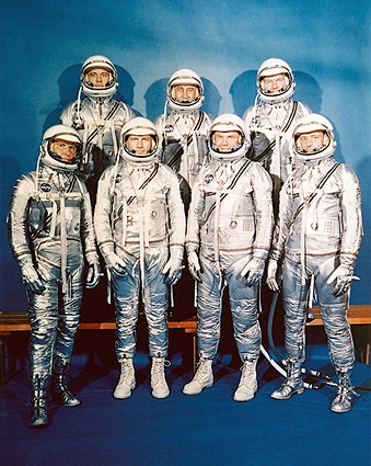 Mercury Seven Astronauts Photo Print