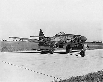 Messerschmitt Me-262 WWII Jet Aircraft Photo Print
