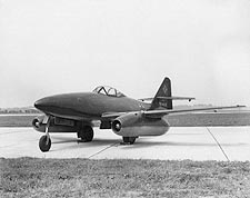 WWII Jet Aircraft Messerschmitt Me-262  Photo Print for Sale