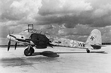 Messerschmitt Me-410 WWII Aircraft Photo Print for Sale