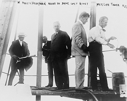 Met Life Tower President Hegeman 1908 New York City Photo Print