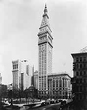 NYC Metropolitan Life Insurance Building 1913 Photo Print for Sale