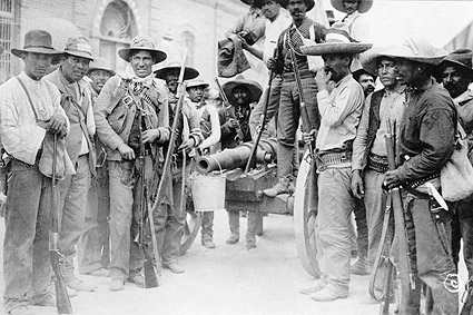 Mexican Revolution Soldiers, Juarez Mexico Photo Print