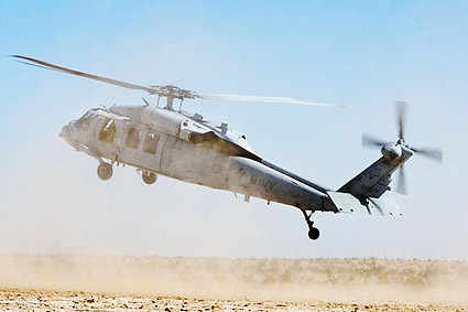 MH-60S / H-60 Knighthawk Helicopter Landing Photo Print