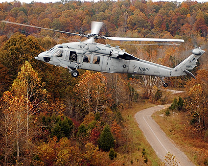 MH-60S Knighthawk Helicopter Chargers HC-6 Photo Print