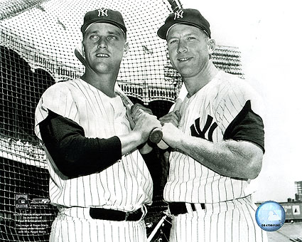 Mickey Mantle & Roger Maris NY Yankees Photo Print