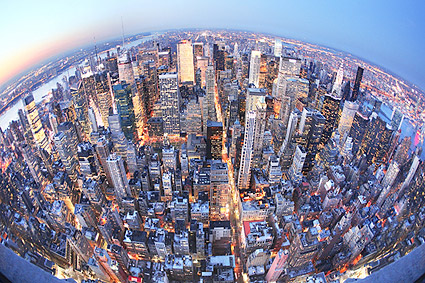 Midtown Manhattan Aerial View NYC Photo Print